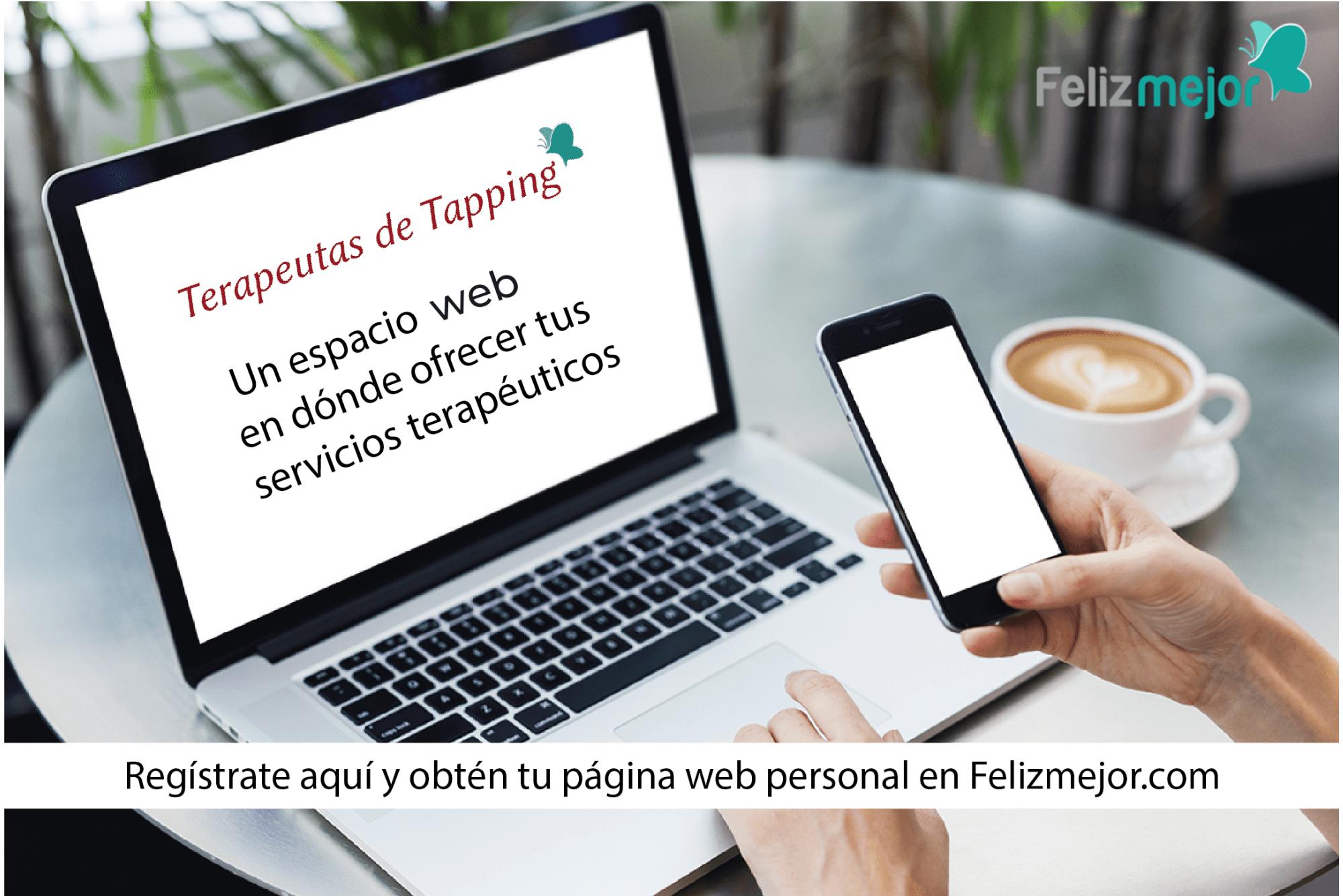 Crea tu página web como Terapeuta de Tapping